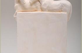 SENSI ARTE_Love Teke, semirefrattario, cm 20 x 30 x 6