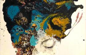 Dreaming, smalti industriali su tavola, cm 170 x 126 , CSTA_01_X_
