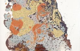 Land,  smalti industriali su tavola, cm 170 x 126 , CSTA_03_X
