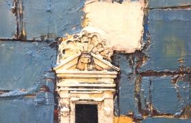 SENSI ARTE, Architettura su tavola, cm 60 x 80_