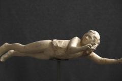 SENSI_ARTE__Agua, legno paulonia, cm 106 x 33 x 42, RBLF_21