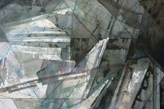 SENSI ARTE, Studio di cava 2, mista su carta intelaiata, 2016, cm 60 x 50
