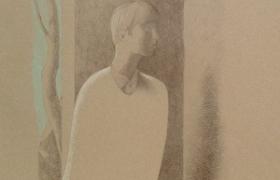 SENSI ARTE, Indeciso, disegno su carta, cm 37x 50_MNZM_1123