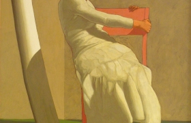 SENSI ARTE_Autunno, tempera su tela, 100 x 120