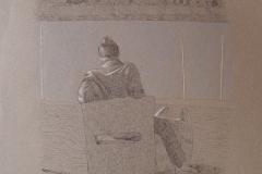 SENSI ARTE, Porto, mista su carta, cm 55 x 37_MNZM_1122