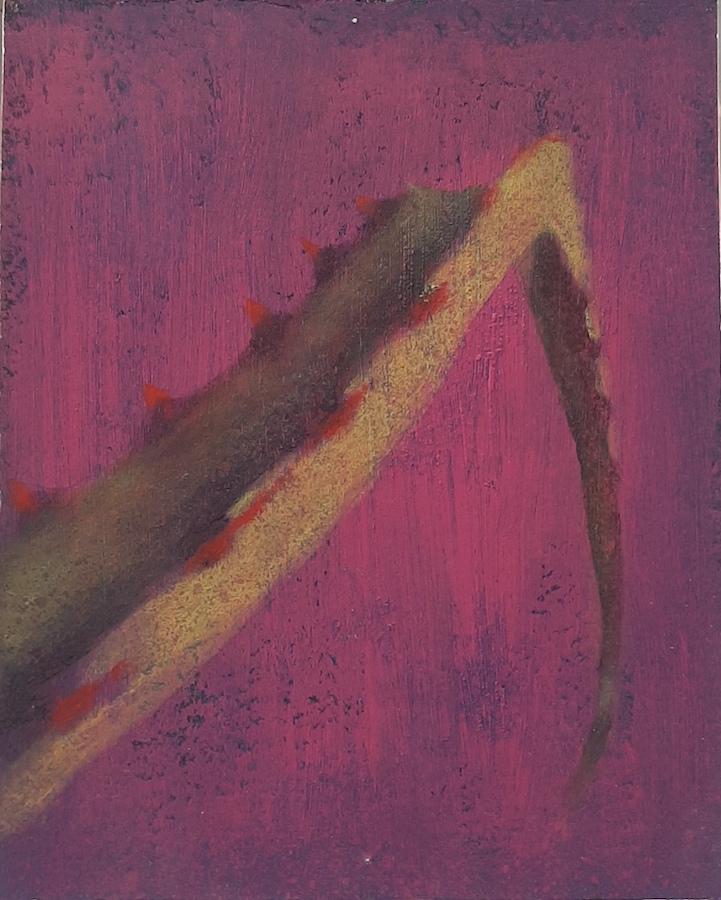 SENSI ARTE, Leaves Effect, acrilico su  cartonlegno, cm 25 x 20, BRLM_202