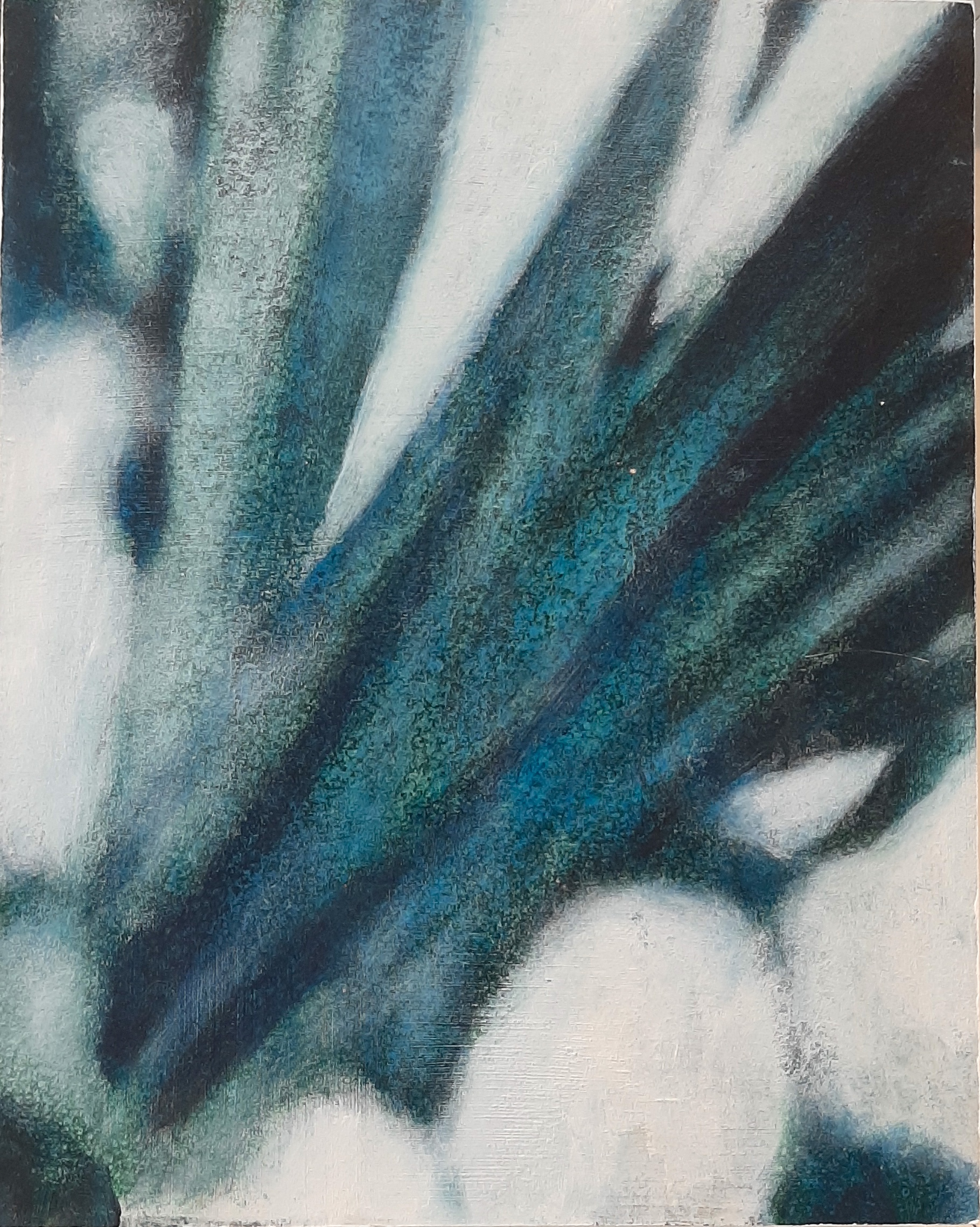 SENSI ARTE, Leaves Effect, acrilico su  cartonlegno, cm 25 x 20, BRLM_203