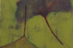 SENSI ARTE, Leaves Effect, acrilico su  cartonlegno, cm 25 x 20, BRLM_204