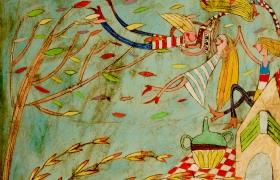 SENSI ARTE_Svegliatevi dal sonno briaconi, mista su tavola, cm  100 x 100