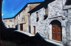 SENSI ARTE, Sorry, we are closed, olio su tavola, cm 26 x40