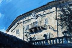 SENSI ARTE, A quite sunday, olio su tavola, cm 26 x 40