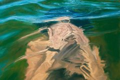 SENSI ARTE, Overfloating IV, olio su tela, cm 120 x 100