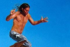 SENSI ARTE, Jump,  olio su tela, cm 45 x 19, NNNM_25