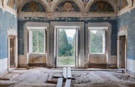 SENSI ARTE_Veduta d' Italia, stampa fine art su pannello , misure varie
