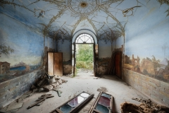 SENSI ARTE, Addio a Villa Bellavista, stampa fine art