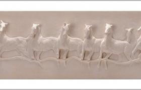 SENSI ARTE, Protagonisti della mossa, semirefrattario, cm 23 x 90_LYLS_84
