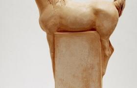 SENSI ARTE_Arabians Halters, She, semirefrattario, cm 30 x 45 x 17