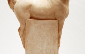 SENSI ARTE_Arabians Halters, He, semirefrattario, cm 30 x 47 x 20