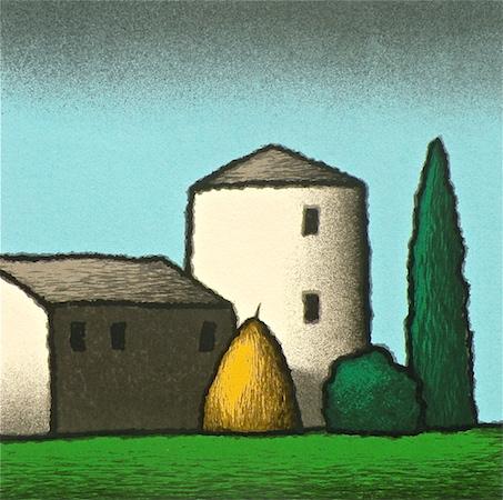 SENSI ARTE, Alba, serigrafia su carta, cm 30 x 30_STFT_547