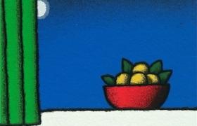 SENSI ARTE, Vaso d'artance, serigrafia su carta, cm 30 x 30_STFT_565