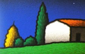 SENSI ARTE_Casalino, serigrafia su carta, cm 30 x 30