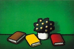 SENSI ARTE, Libri, serigrafia su carta, cm 50 x 70_STFT_69a