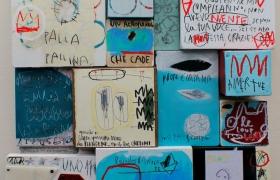 SENSI ARTE, Bimbo mio, assemblaggio, cm 59 x 78 x 10